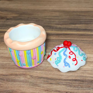 Partlite Cupcake Candle Holders Set Of 2